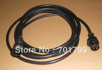 3m(10feet) long 4core BLACK extention cable,one end with male,the other end with female;the male connect's diameter:15mm