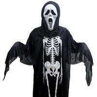 Skull skeleton clothing props performance wear
