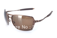 2013 year Hotselling Copper Frame New Mens Inmate sunglasses Sports sunglass Inmate polarized Metal NEW in case box