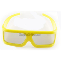 Circular/Linear Polarized Passive 3D Glasses With best Frame for 3D 4D 5D Cinema Wholesale Free DHL SHIPPING 100pcs/lot