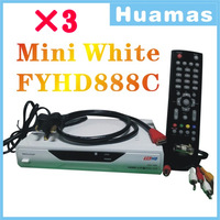 Mini White FYHD 888C Singapore HD Channels 3pcs/lot free DHL/Fedex Shipping
