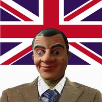 Latex mask  Mr Bean