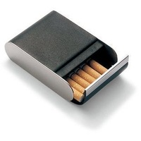 Philippi genuine leather cigarette case ultra-thin yanhe male women's yanhe gift
