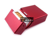 Magnet induction metal cigarette case personalized cigarette case 20 ultra-thin automatic metal box