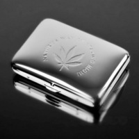 Double 16 pure copper embossed yanhe 320 silver metal smoke clip