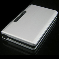 Automatic 6 ultra-thin cigarette case personalized aluminum alloy cigarette case large