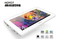 in stock 7 inch Multi Touch Screen Android 4.1 Tablet PC Ainol Novo7 Crystal Quad Core+8GB ROM+1GB RAM+1024*600