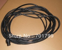 7.6(25feet) long 4core BLACK extention cable,one end with male,the other end with female;the male connect's diameter:15mm