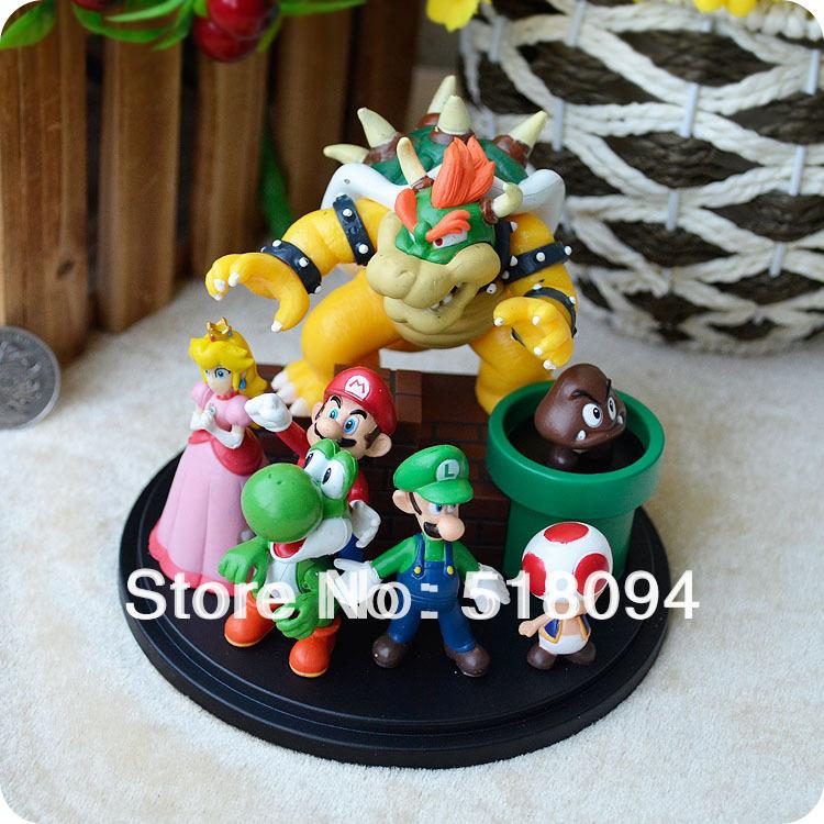 классическая игра супер Марио фигурки игрушки