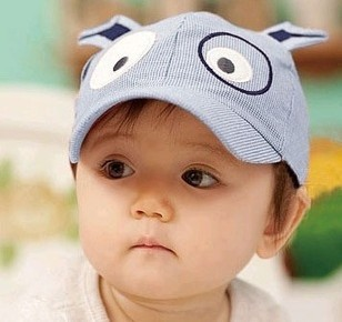 Free shipping Baby Baseball hat sun-shading cap child baseball cap bonnet cap wholesale