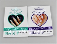 Instructions English Book Beauty Salon Nails Pattern Magazine Pro Decoartive Nail Art Books Supplier Accessories 498