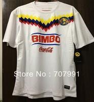 Hot Pomotion 2013-14 High Thailand Quality Player Version Mexico Club America White Football Soccer Jerseys Uniforms Shirts Kits