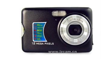 wholesale 12MP 8Xdigital zoom 2.7 inch LCD Digital CMOS Camera DC520