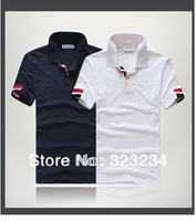 2014 New The New Spring Embroidered T shirts in Korean Men T Shirts Size:M L XL XXL