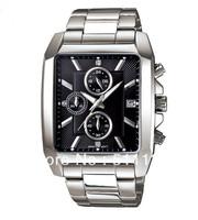 Brand Waterproof Quartz watch NEW EFR-511D-1A sports sports watch timer+original Box 3 years warranty Wholesale and Retail