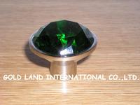 D45xH35mm Free shipping crystal glass furniture cabinet knob drawer knob