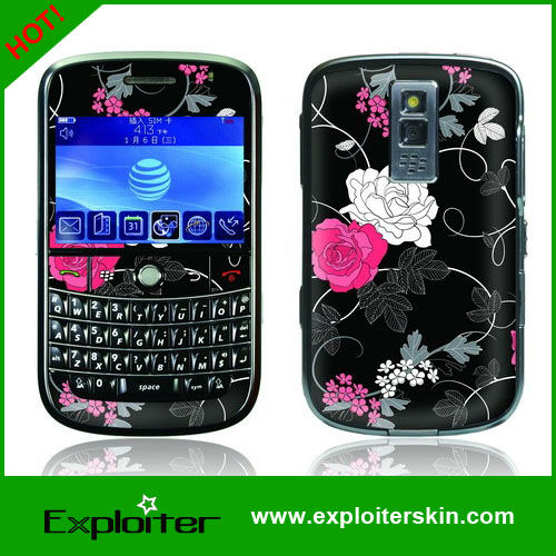 Factory outlets 100pcs/lot Colorful DIY Vinyl Skin Sticker For Blackberry bold 9000 cell phone decal skin,OEM is available!(China (Mainland))