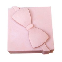 free shipping 1pcs gift box shape candle Muffin case Candy Jelly Ice cake soap Chocolate Silicone Mould Mold 50068