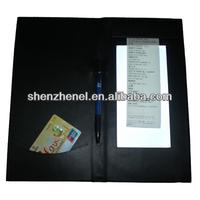 modern Lighted LED resturant bill folder B367