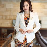 New 2014 spring short jacketshigh quality elegant slim Jackets tuxedo female Free Shipping