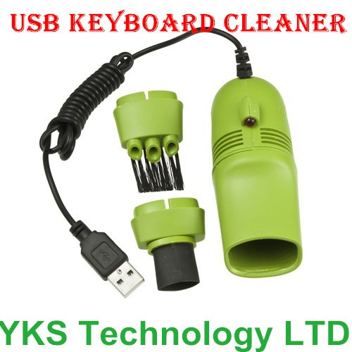 1Pcs New Mini USB Vacuum Keyboard Cleaner Dust Collector LAPTOP Computer DropShipping(China (Mainland))