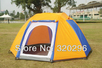 High Quality Double Layer 6 Man Tents