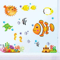 Child cartoon eco-friendly luminous stickers wall stickers neon tile stickers