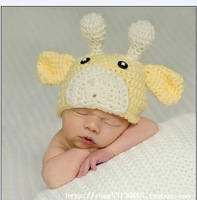 FREE SHIPPING/ HOT SALE/ Photography Prop Newborn winter hats for children Handmade Crochet