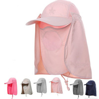 Free shipping Sun hat anti-uv quick-drying cap jungle hat outdoor products quick dry cap sun-shading cap