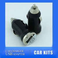 Fast Shipping 12V-24V Mini Car Charger USB Adapter for iPhone iPod Nano MP4 PDA