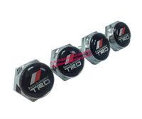 License Plate Frame Bolt Screw Set (4) Emblem Seta TRD For Toyota Free Shiping High Quality Wholesale