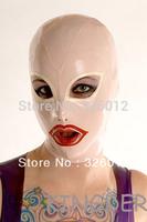 Latex hood rubber mask 100% pure nature handmade latex
