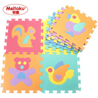 free shipping Multicolour middlebury animal puzzle mats eva foam mats baby crawling mat eco-friendly