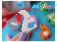 Free Shipping  1lot of 5 box / korean stationer  kawaii  Digital animal small eraser