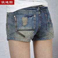 2013 denim jeans women shorts pants women jeans loose shorts denim women short jeans thin denim shorts fashion