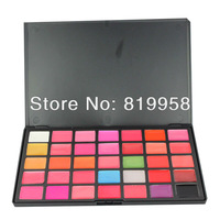 Professional!! Free Shipping 35 Colors Cosmetic Palette Lip Gloss Palette 35L