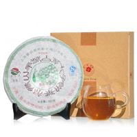Treasures seven cake gift box white PU er tea health tea