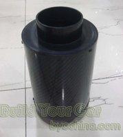 Carbon fiber Universal Air Intake Filter Heat Shield Cover filter P101