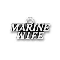free ship 15pcs a lot alloy antique silver  marine wife charm pendants jewelry