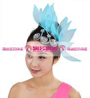 Dance clothes hair accessory 5pcs/lot blue