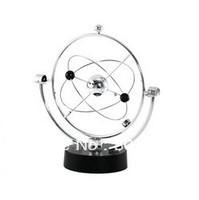 Free Shipping New Milky Way Celestial Bodies Kinetic Motion Orbital Desk Toy (Silver)