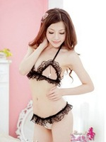 Free Shipping Hot Sale 2013 Porn  Sexy Lingerie  Women  +G String Super Sexy  Lace  Bikini Bra Sets SDS12