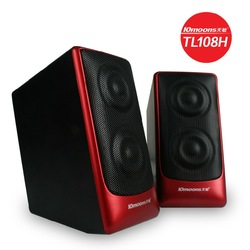 Free shipping Tianmin tl108h computer small speaker hifi mini audio system usb socket 2.0 subwoofer speaker(China (Mainland))