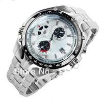 Brand Waterproof Quartz watch NEW  EF-543D-7AV  sports sports watch timer+original Box 3 years warranty Wholesale and Retail