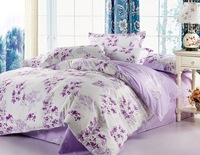 Discount competitive price discount purple comforter sets full, queen /full size, fashion comforter sets, EMS Free Shipping