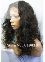 Free Shipping>brazilian virgin wig > Imitate human hair long wigs no lace front