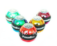 2013 Hot Sale Power Ball Gyroscope LED Wrist Strengthener Ball+Speed Meter(Counter) Spin Ball with led counter free shipping