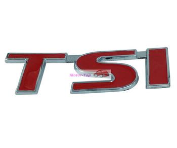 10pcs 10/lot Metal Hood Front Grille Grill Emblem Auto For TSI Badge GOLF CC Passat Magotan Free Shipping High Quality Wholesale