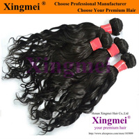 Free shipping 12- 40 inches 5A grade hair extensions, unprocessed top quality water wave virgin brazilian hair 3pcs lot