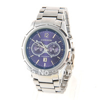 Free shipping 2013 New Brand   Stylish Curren 11 Strips Hour Marks Men's Analogue Quartz with Calendar Function Wrist Watch